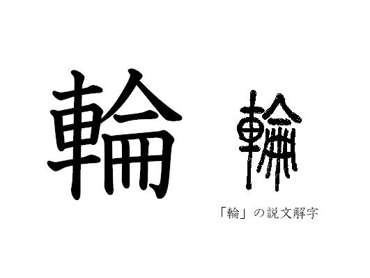 漢字コラム22「輪」「まるく」つ...