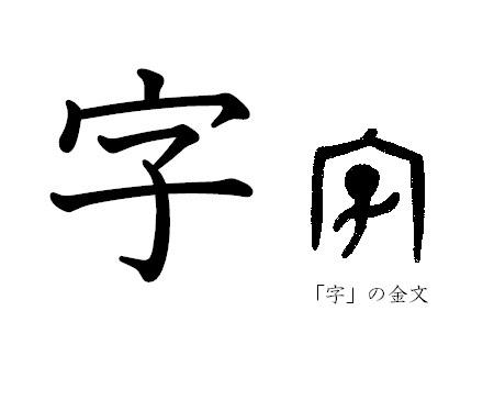 漢字コラム4 「文」を産み、「字...