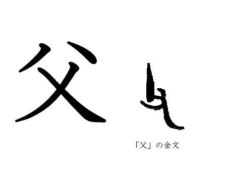 漢字コラム6「父」 権力の象徴?年配の男性? | 歴史・文化 | 日常に ...
